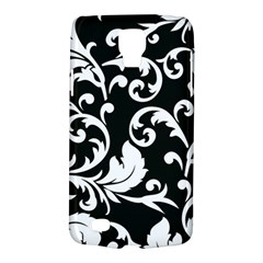 Black And White Floral Patterns Galaxy S4 Active
