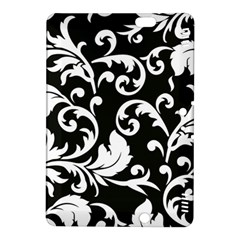 Black And White Floral Patterns Kindle Fire Hdx 8 9  Hardshell Case
