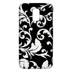 Black And White Floral Patterns Galaxy S5 Mini