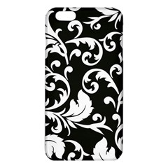 Black And White Floral Patterns Iphone 6 Plus/6s Plus Tpu Case