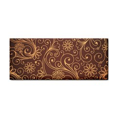 Gold And Brown Background Patterns Cosmetic Storage Cases