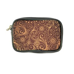 Gold And Brown Background Patterns Coin Purse