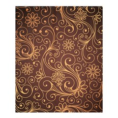 Gold And Brown Background Patterns Shower Curtain 60  X 72  (medium)