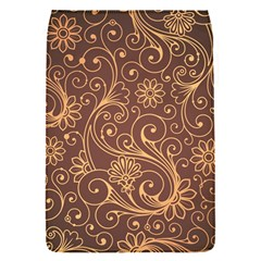 Gold And Brown Background Patterns Flap Covers (s)