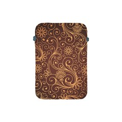 Gold And Brown Background Patterns Apple Ipad Mini Protective Soft Cases