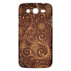 Gold And Brown Background Patterns Samsung Galaxy Mega 5 8 I9152 Hardshell Case