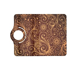 Gold And Brown Background Patterns Kindle Fire HD (2013) Flip 360 Case