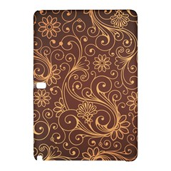 Gold And Brown Background Patterns Samsung Galaxy Tab Pro 12 2 Hardshell Case