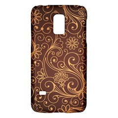 Gold And Brown Background Patterns Galaxy S5 Mini