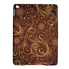 Gold And Brown Background Patterns iPad Air 2 Hardshell Cases