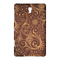 Gold And Brown Background Patterns Samsung Galaxy Tab S (8 4 ) Hardshell Case