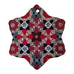 Beautiful Art Pattern Ornament (snowflake)
