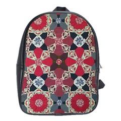 Beautiful Art Pattern School Bags (XL)
