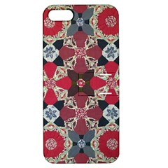 Beautiful Art Pattern Apple Iphone 5 Hardshell Case With Stand