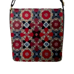 Beautiful Art Pattern Flap Messenger Bag (l)