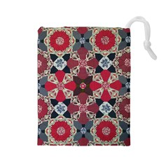 Beautiful Art Pattern Drawstring Pouches (Large)