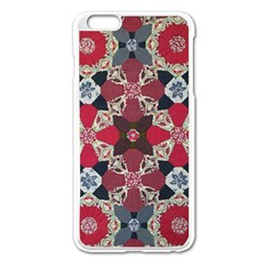 Beautiful Art Pattern Apple Iphone 6 Plus/6s Plus Enamel White Case