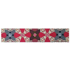 Beautiful Art Pattern Flano Scarf (Small)