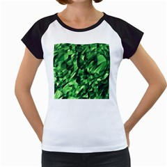 Green Attack Women s Cap Sleeve T