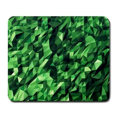 Green Attack Large Mousepads