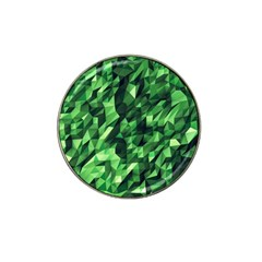 Green Attack Hat Clip Ball Marker (4 Pack)