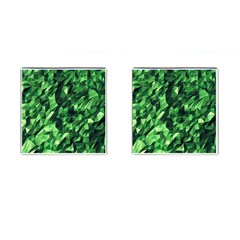 Green Attack Cufflinks (Square)
