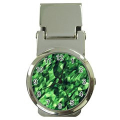Green Attack Money Clip Watches