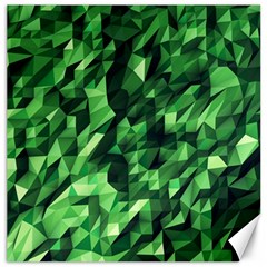 Green Attack Canvas 20  x 20