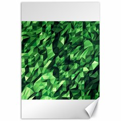 Green Attack Canvas 24  X 36