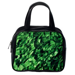 Green Attack Classic Handbags (One Side)