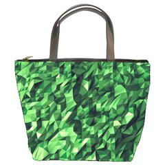 Green Attack Bucket Bags