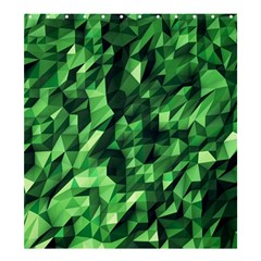 Green Attack Shower Curtain 66  X 72  (large)