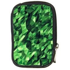 Green Attack Compact Camera Cases