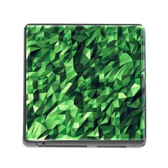 Green Attack Memory Card Reader (Square)