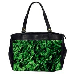 Green Attack Office Handbags