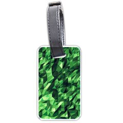 Green Attack Luggage Tags (Two Sides)
