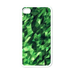Green Attack Apple Iphone 4 Case (white)