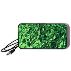 Green Attack Portable Speaker (Black)