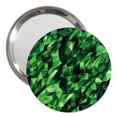 Green Attack 3  Handbag Mirrors