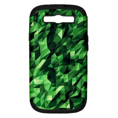 Green Attack Samsung Galaxy S III Hardshell Case (PC+Silicone)