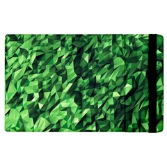 Green Attack Apple Ipad 3/4 Flip Case