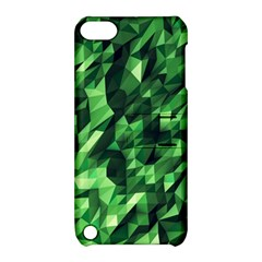 Green Attack Apple Ipod Touch 5 Hardshell Case With Stand