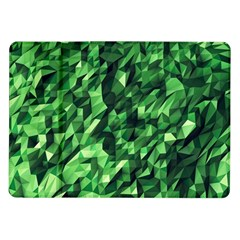 Green Attack Samsung Galaxy Tab 10.1  P7500 Flip Case
