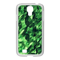 Green Attack Samsung Galaxy S4 I9500/ I9505 Case (white)