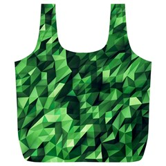 Green Attack Full Print Recycle Bags (l)
