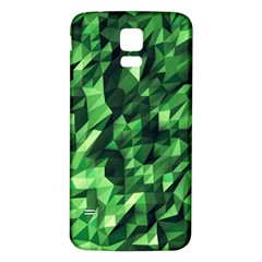 Green Attack Samsung Galaxy S5 Back Case (white)