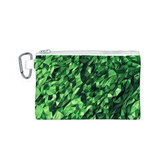 Green Attack Canvas Cosmetic Bag (s)