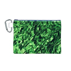 Green Attack Canvas Cosmetic Bag (M)