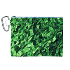 Green Attack Canvas Cosmetic Bag (XL)