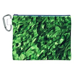 Green Attack Canvas Cosmetic Bag (xxl)